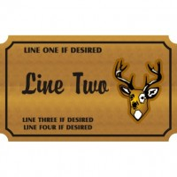 14x18 Custom Carved Wooden Sign (One Side)